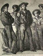 Vorläufer der Bootcut Jeans
